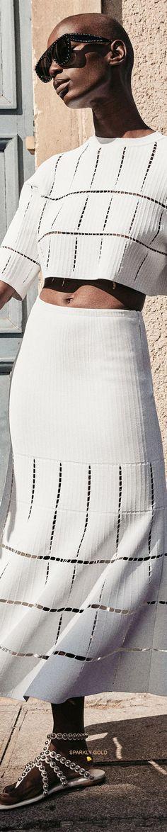 Alaia, All White, Spring Summer Fashion, Couture, Season 2, Haute Couture