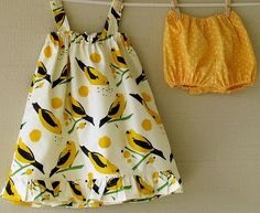 this birdie fabric is to die for!