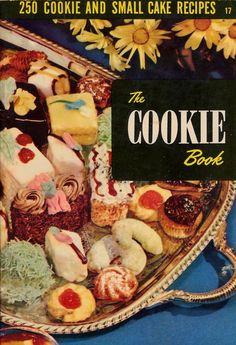 Vintage Cookbook 1950s - The Cookie Book #vintage #cookbook