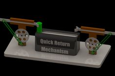 2 Quick return mechanisms - SOLIDWORKS - 3D CAD model - GrabCAD