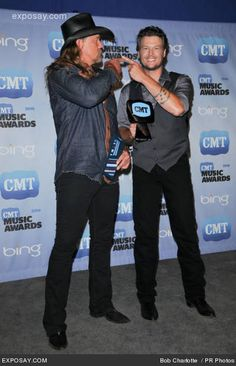 Country Music - Trace Adkins and Blake Shelton