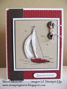 Sail Away by stampingmaria - Cards and Paper Crafts at Splitcoaststampers