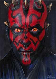 Darth Maul Sketch Art x inch copics on card Sith Lord, Darth Maul, Obi Wan, Lightsaber, Comic, Star Wars Art, Clone Wars, Art Sketches, Nerd