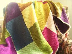 Ravelry: KristenJ's Patchwork Garter Stitch Blanket