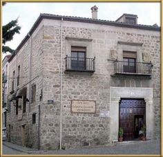 Hotel Bracamonte, Avila, Spain.