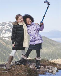 Bitte lächeln! #LandsEnd #Kids #Wintermode
