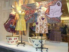 vintage boutique window display - Google Search