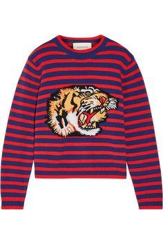 a29f06028f1 Gucci For · Wool CardiganCardigan Sweaters For WomenWool SweatersCrewneck  SweatersStripe ...