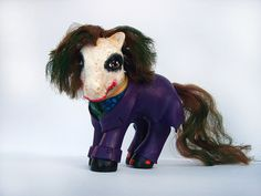 I LOVED My Little Ponies as a kid.  Mari Kasurin - altered My Little Ponies