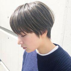 Short Bob Hairstyles, Girl Hairstyles, Short Hair, Long Pixie Cuts, Shot Hair Styles, Hair Arrange, Japanese Hairstyle, Female Images, Hair Goals