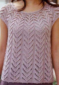 Bonitos patrones (fotos) con calados y trenzas abultadas. En ruso pero con los esquemas
