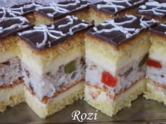 Hungarian Recipes, Hungarian Food, Beignets, Cake Cookies, Tiramisu, Cake Recipes, Cheesecake, Sweets, Ethnic Recipes