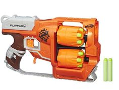 Amazon Deal: Score Nerf Zombie Strike Blaster For Only $12.40 Score your zombie apocalypse surviver a new Nerf Zombie Strike Blaster for the holidays for a