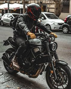 Custom Motorcycles, Gear, and News Cafe Racer Bikes, Cafe Racer Motorcycle, Motorcycle Style, Motorcycle Design, Women Motorcycle, Motorcycle Helmets, Biker Style, Cafe Racers, Vintage Bikes