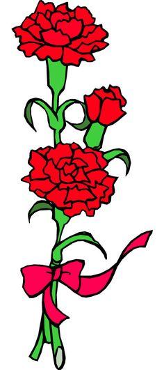 digital wreath clipart carnation png by michlg studios on rh pinterest co uk carnation clip art free pink carnation clip art free