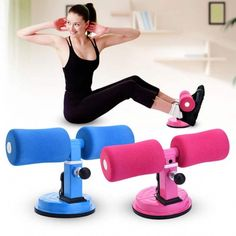 Sit-ups Assistant Device Home Fitness Exercise Equipment Healthy Bodybuilding Abdomen Lose Weight Gym Workout Accessories Sit-ups Assistent . Fitness Studio Training, Cardio Training, Training Exercises, Muscle Training, Training Videos, Bodybuilding, Fun Workouts, At Home Workouts, Fitness Factory