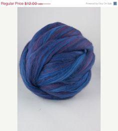 SALE superfine merino wool color blend Morgana by DivinityFibers, $11.40