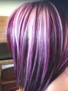 Fashion : Lavender Highlights Brown Hair The Best Of 25 Best Ideas About Purple Peekaboo Hair On Pinterest Lavender Highlights Brown Hair Fashions