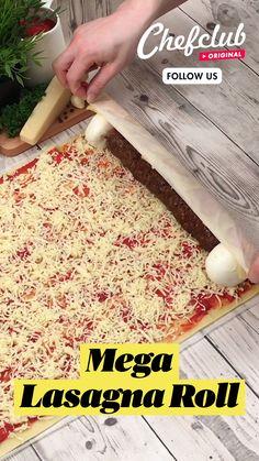 Fun Baking Recipes, Dairy Free Recipes, Pasta Recipes, Beef Recipes, Appetizer Recipes, Dinner Recipes, Cooking Recipes, One Pot Dinners, Lasagna Rolls