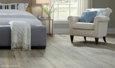 Pickled finishes from the '90s are now called a more sophisticated cerused. Tarkett Laminate Heritage Oak Light 42139385