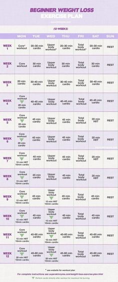 12 week workout