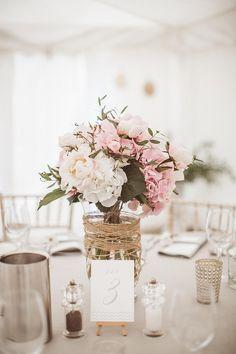 Centros de mesa para todos los estilos de boda | Rosa Clará