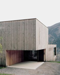 Bechter Zaffignani Architekten — Single Family Home Upper-Inn Valley