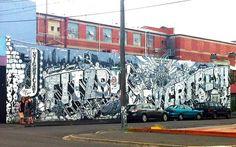 Street Art & Graffiti in Fitzroy, Melbourne