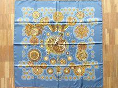 http://happyface313.com/2016/03/17/wir-sehen-blau/ - Hermès Le Roy Soleil, Designerin Annie Faivre, 1994