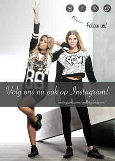 Follow us on social media. Now also on Instagram! --> instagram.com/gallerysbelgium/