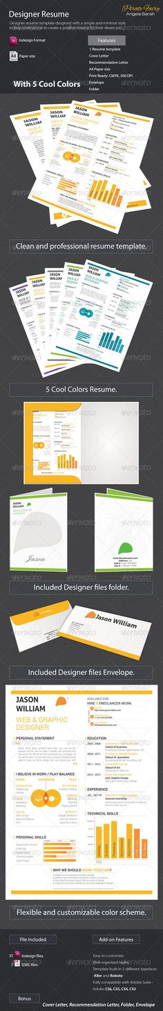 Designer Resume - #Resumes Stationery