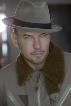 "Caesars Palace Headliner Matt Goss Forms ""Strong"" Partnership With Susan G. Matt Goss, Pork Pie Hat, The Boogie, Caesars Palace, Flat Cap, Fur Collars, Cowboy Hats, Sexy Men, Hot Guys"