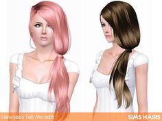 Newsea's J152 Tell Me hairstyle edit by Sims Hairs for Sims 3 - Sims Hairs - http://simshairs.com/downloads-sims3-sims4/newseas-j152-tell-me-hairstyle-edit-by-sims-hairs/