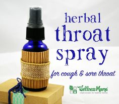 This homemade herbal throat spray recipe is great for sore throat or cough made with natural ingredients like echinacea, thyme, elderberry, and ginger. The post Herbal Throat Spray Recipe appeared first on Aktuelle. Flu Remedies, Homeopathic Remedies, Holistic Remedies, Natural Health Remedies, Natural Cures, Natural Healing, Herbal Tinctures, Herbalism, Herbal Teas