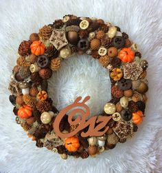 Pine Cone Art, Pine Cones, Welcome Wreath, Thanksgiving Crafts, Fall Decor, Diy And Crafts, Wreaths, Autumn, Seasons