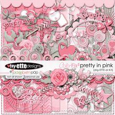 ColorFIX2 Pretty In Pink Dig-ETTE-al Kit by Fayette Designs