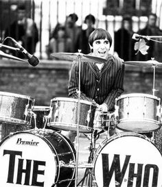 """""""Keith Moon had an extraordinary metronome. He was magnificent. And funny as hell. Rock N Roll Music, Rock And Roll, John Entwistle, Keith Moon, Roger Daltrey, Band Pictures, British Rock, The Best Films, Funny As Hell"""