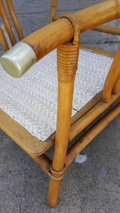 Pair Of Ficks Reed Rattan Lounge Chairs Vintage Rattan