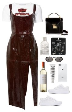 """""""vet"""" by millicent4 ❤ liked on Polyvore featuring Rebecca Minkoff, Rosetta Getty, Vetements, Vans, Topshop, Jean-Paul Gaultier, Le Labo and MILK MAKEUP"""