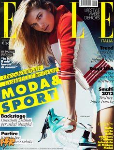 Elle Italia June 2012, Jessica Hart