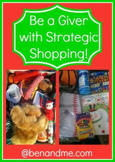 #FrugalFamily -- Be a Giver with Strategic Shopping #frugal @Operation Christmas Child