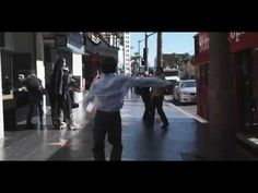 """""""This clip, directed by Eva Husson, follows a young boy, as he dances his way beneath the streets of Hollywood."""""""