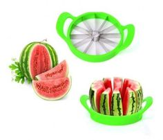 There's nothing more frustrating than getting ready for a summer meal & you still have to cut up the watermelon. the melon slicer does it in one cut and you