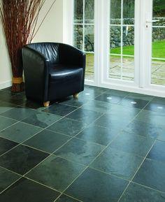 slate floor | Slate Floor Tiles Is An Ideal Home Improvement Floor Choice | Home ...