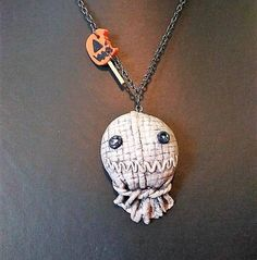 Trick R Treat Sam and lollipop Necklace