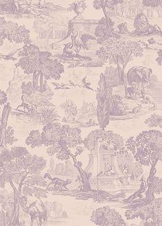 Tapete Versailles von Cole & Son - Mulberry