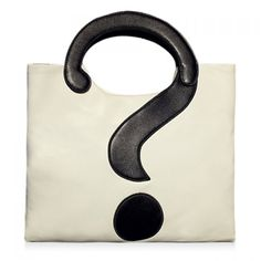 Wholesale Stylish Question Mark and Color Block Design Women's Tote Bag Only $6.11 Drop Shipping | TrendsGal.com