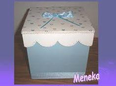 Resultado de imagen de cajas decoradas Decorative Boxes, Home Decor, Painted Boxes, Canisters, Decoration Home, Room Decor, Home Interior Design, Decorative Storage Boxes, Home Decoration