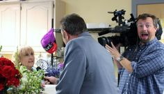 -The Power of Flowers - We had a very special visit this past spring - David Robichaud, from WBZ, Channel 4  and camerman, Matt Colson, visited our workshop and then followed us to a delivery!  (yep! then we were on TV!)