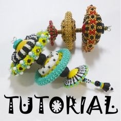 *P Mikki Ferrugiaro Designs | Bead Weaving Tutorials and Components